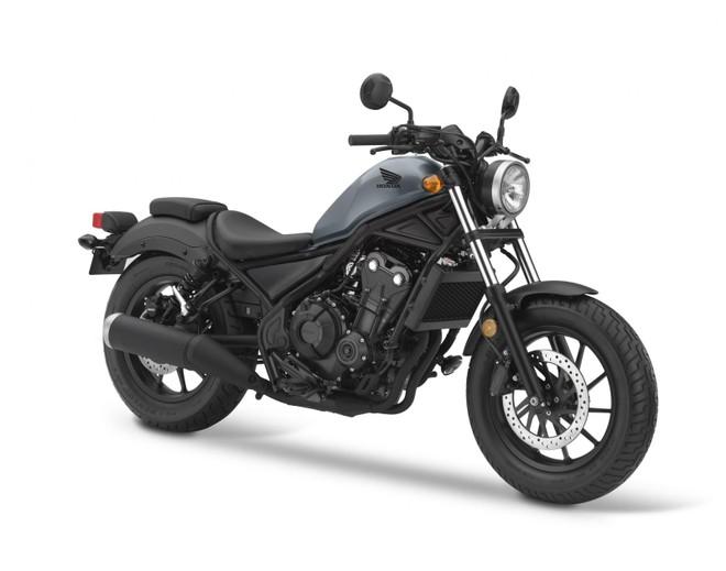 Honda Rebel 500 2019 Đen Xanh