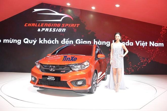 Honda Brio đã từng được trưng bày ở triển lãm VMS 2018 tại TP. HCM