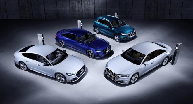 Audi chính thức phát hành hình ảnh chính thức của Q5, A6, A7 và A8 plug-in hybrid