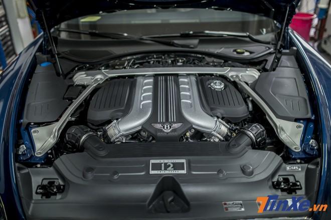 Động cơ W12 của Bentley Continental GT 2018 đầu tiên về Việt Nam