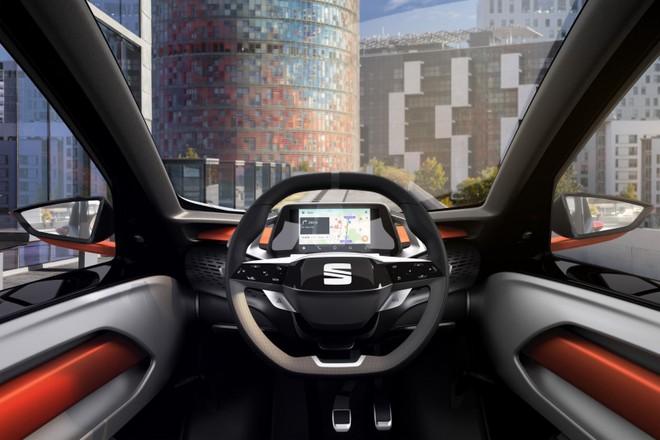 Khoang lái của Seat Minimo