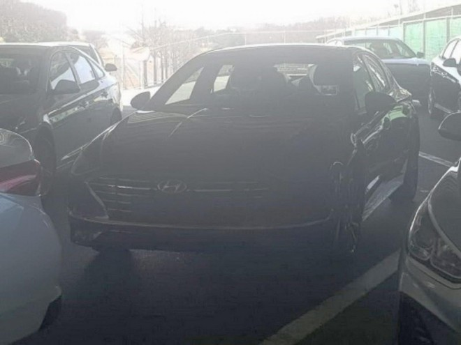 Thiết kế đầu xe của Hyundai Sonata 2020