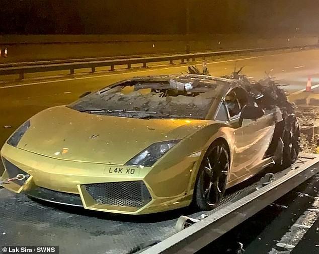 Vụ cháy xảy ra chỉ 1 tiếng sau khi chiếc Lamborghini Gallardo Spyder được bảo dưỡng tại đại lý chính hãng