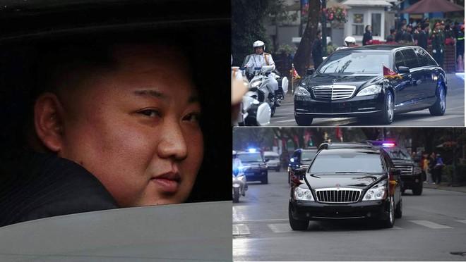 Ông Kim Jong-Un và 2 chiếc chuyên xa Mercedes-Benz S600 Pullman Guard cùng Maybach 62S đã được đem sang Việt Nam để tiện di chuyển