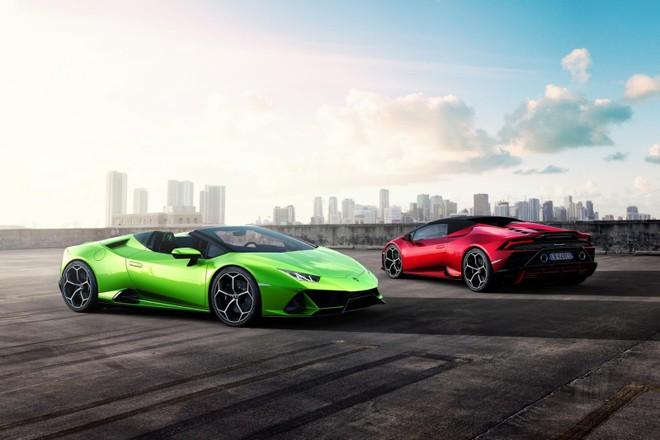 Lamborghini Huracan Evo Spyder chính thức ra mắt