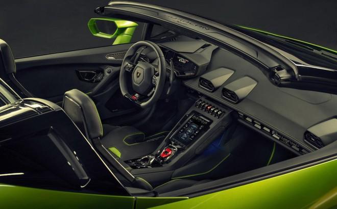 Lamborghini Huracan Evo Spyder có giá lên đến 12,635 tỷ đồng tại Trung Quốc