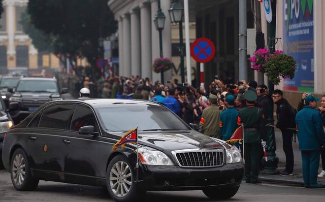 Chiếc Maybach 62S của ông Kim Jong-Un