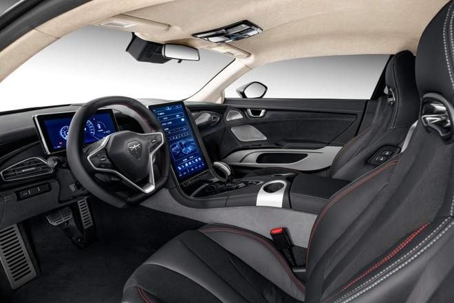 Nội thất xe có thiết kế hiện đại và đầy phong cách