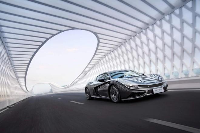 Qiantu K50 là một dự án xe điện gốc Trung Quốc khá được chú ý thời gian gần đây
