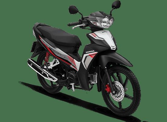Honda Blade đen trắng đỏ