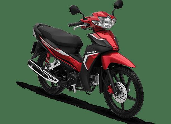 Honda Blade màu đỏ đen