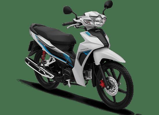 Honda Blade màu trắng đen