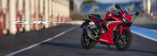 Honda CBR500R 2019 đã chính thức được phấn phối chính hãng tại Việt Nam