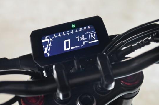 Bảng đồng hồ LCD hiển thị sắc nét