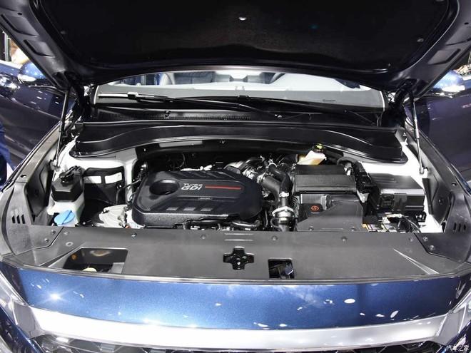 Động cơ xăng của Hyundai Santa Fe 2019 bản Trung Quốc mạnh hơn xe ở Việt Nam