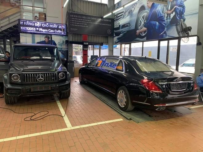 Siêu phẩm Mercedes-Maybach S600 Pullman thứ 2 tại Việt Nam bất ngờ xuất hiện ở Nghệ An