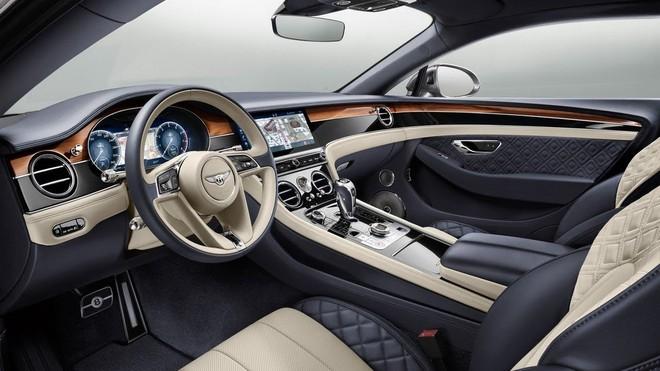 Nội thất của Bentley Continental GT 2019