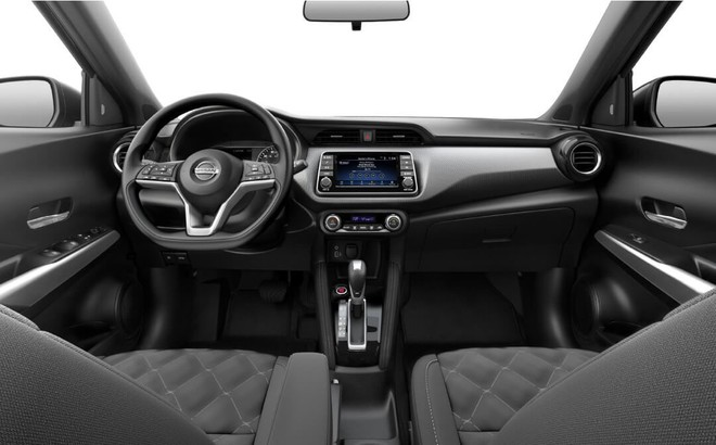Nội thất của Nissan Kicks 2019