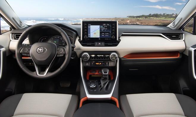 Nội thất của Toyota RAV4 2019
