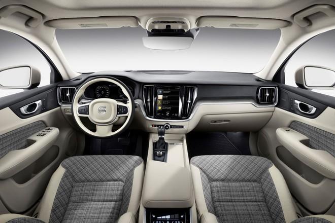Nội thất của Volvo V60 2019