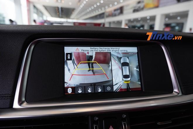 Trang bị camera 360 độ là điểm mới của Kia Optima 2019