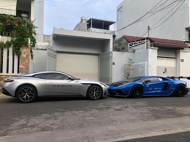 Aston Martin DB11 V8 và Lamborghini Aventador Limited Edition 50 của doanh nhân Vũng Tàu