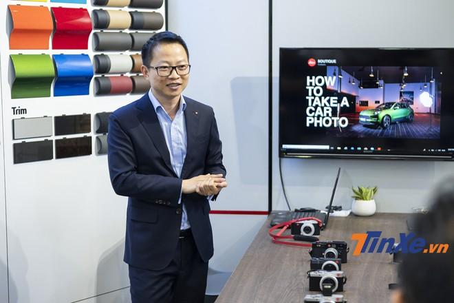 ông Nguyễn Gia Phong - Giám đốc điều hành Leica Việt Nam.
