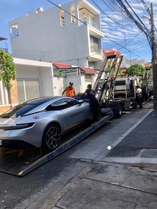 Aston Martin DB11 V8 của doanh nhân Vũng Tàu cũng góp mặt ở Car Passion 2019
