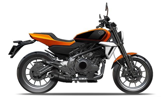 Thiết kế xe hạng nhẹ của Harley-Davidson