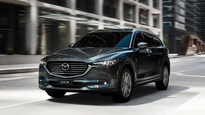 Mazda CX-8 lắp ráp tại Việt Nam sẽ sử dụng động cơ xăng 2.5L từ đàn em CX-5