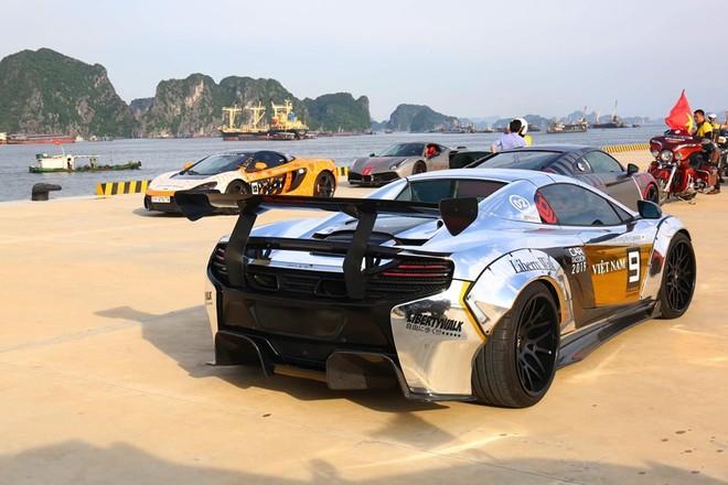 McLaren 650S Spider là 1 trong 4 chiếc siêu xe mang gói độ Liberty Walk chính hãng tại Việt Nam