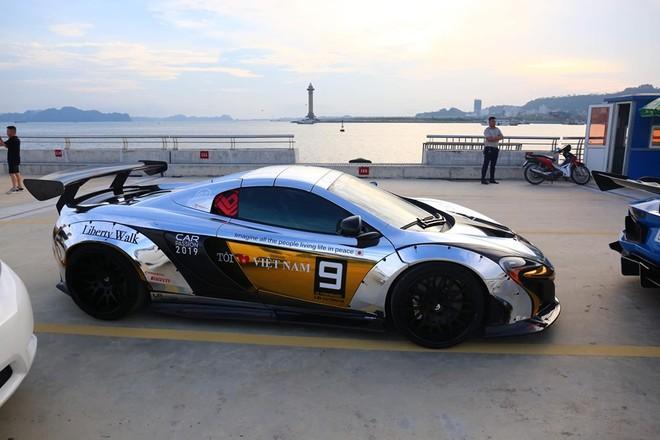 Năm 2019, chiếc siêu xe McLaren 650S Spider của Dương Kon tham dự Car Passion đã được độ Liberty Walk