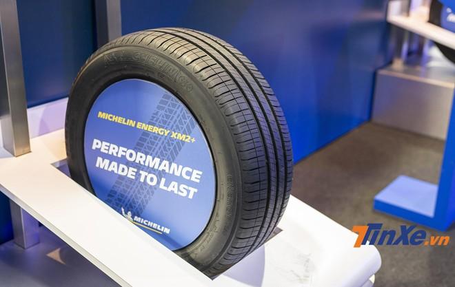 Lốp Michelin Energy Xm2+ được sử dụng hợp chất cao su mới trên bề mặt gai nên mang lại hiệu suất hoạt động tốt hơn.