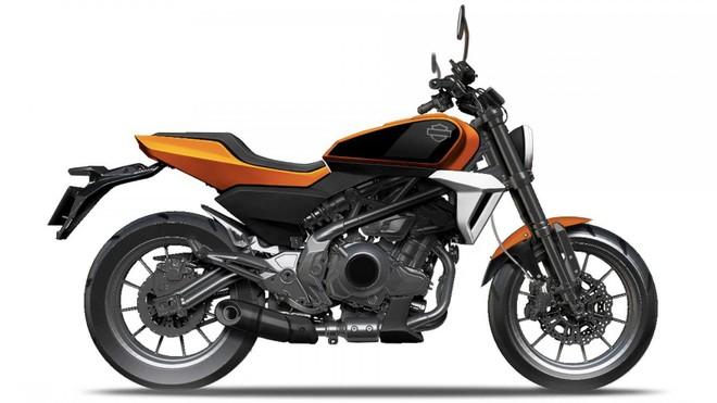 Xe mô tô 338cc của Harley-Davidson