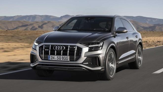 Audi SQ8 2020 ra mắt như phiên bản hiệu suất cao của Q8