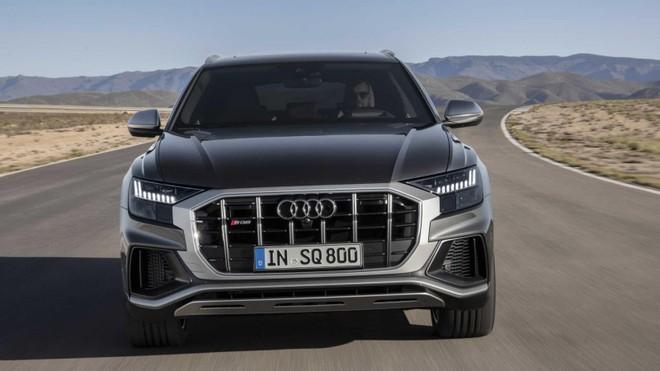 Audi SQ8 2020 được trang bị hệ thống động cơ mild hybrid vừa mạnh mẽ vừa tiết kiệm nhiên liệu