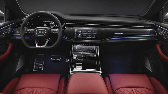 Nội thất bên trong Audi SQ8 2020