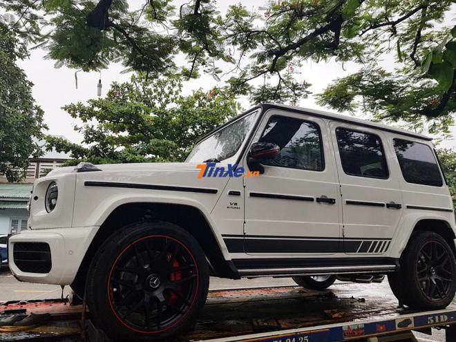 Minh Nhựa đăng ký biển số cho Mercedes-AMG G63 Edition 1 màu trắng hàng hiếm tại Việt Nam