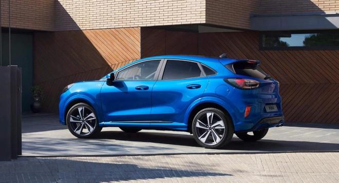 Ford Puma 2020 sẽ cùng với người anh em EcoSport cạnh tranh trong phân khúc SUV cỡ B