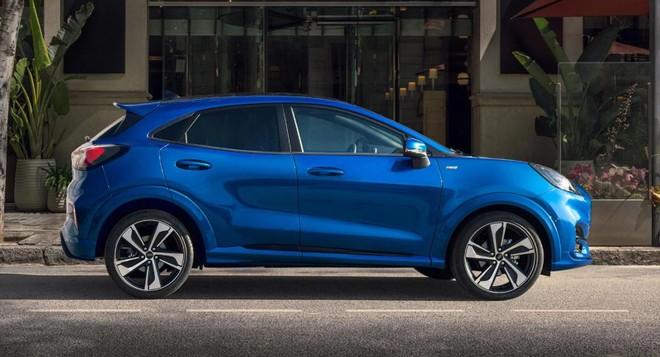 Ford Puma 2020 dùng chung cơ sở gầm bệ với mẫu xe hatchback hạng B Fiesta