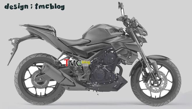 Yamaha MT-03 cũng sẽ có các nâng cấp tương tự người anh em Yamaha R3