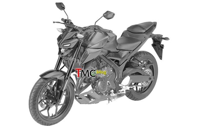 Thiết kế dự kiến của Yamaha MT-03