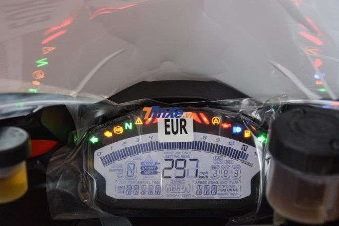 Bảng đồng hồ LCD toàn phần