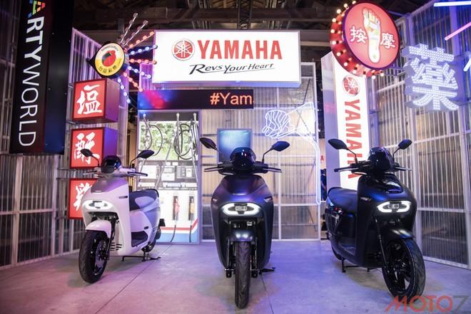 Những chiếc xe máy điện Yamaha EC-05 chình thức ra mắt tại Đài Loan