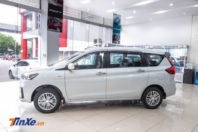 Thiết kế sườn xe của Suzuki Ertiga 2019