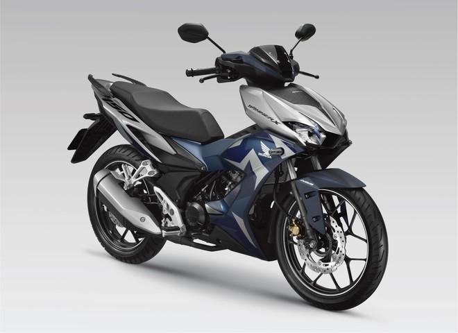 Honda Winner X Xanh Bạc Đen