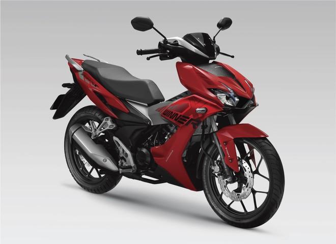 Honda Winner X Đỏ Bạc Đen