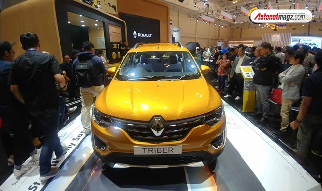 Renault Triber 2019 ra mắt Đông Nam Á trong triển lãm GIIAS 2019