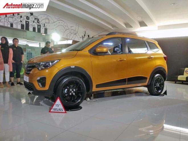 Dài chưa đến 4 m nhưng Renault Triber 2019 đi kèm nội thất 7 chỗ