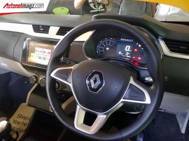 Nội thất bên trong mẫu MPV giá rẻ Renault Triber 2019